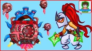 Игровой Мультфильм для детей про БОИ и СРАЖЕНИЯ Tower Conquest от Фаника 26