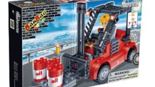 Forklift Truck Toy Building Set