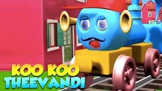 കൂ കൂ തീവണ്ടി Koo Koo Theevandi | Famous Malayalam Nursery Rhymes - 1 Hour Collection
