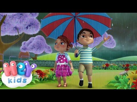 Rain Rain Go Away | Nursery Rhyme By HeyKids .com