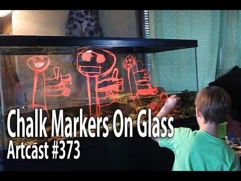artcast-#373-chalkola---erasable-chalk-markers-on-glass