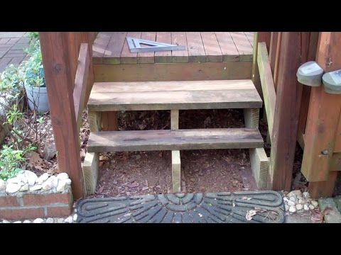 Repairing my Deck Steps