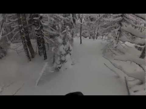 Ski au Noirmont Jura HD