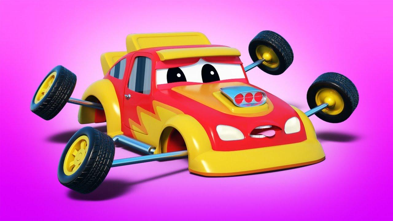 NBA: 슈퍼 몬스터 트럭이 레이스카를 구해주었어요 | 슈퍼 트럭 | 자동차 시티 월드 앱