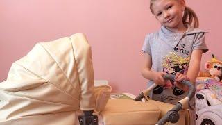 видео Детские коляски для кукол | Игрушечные коляски купить