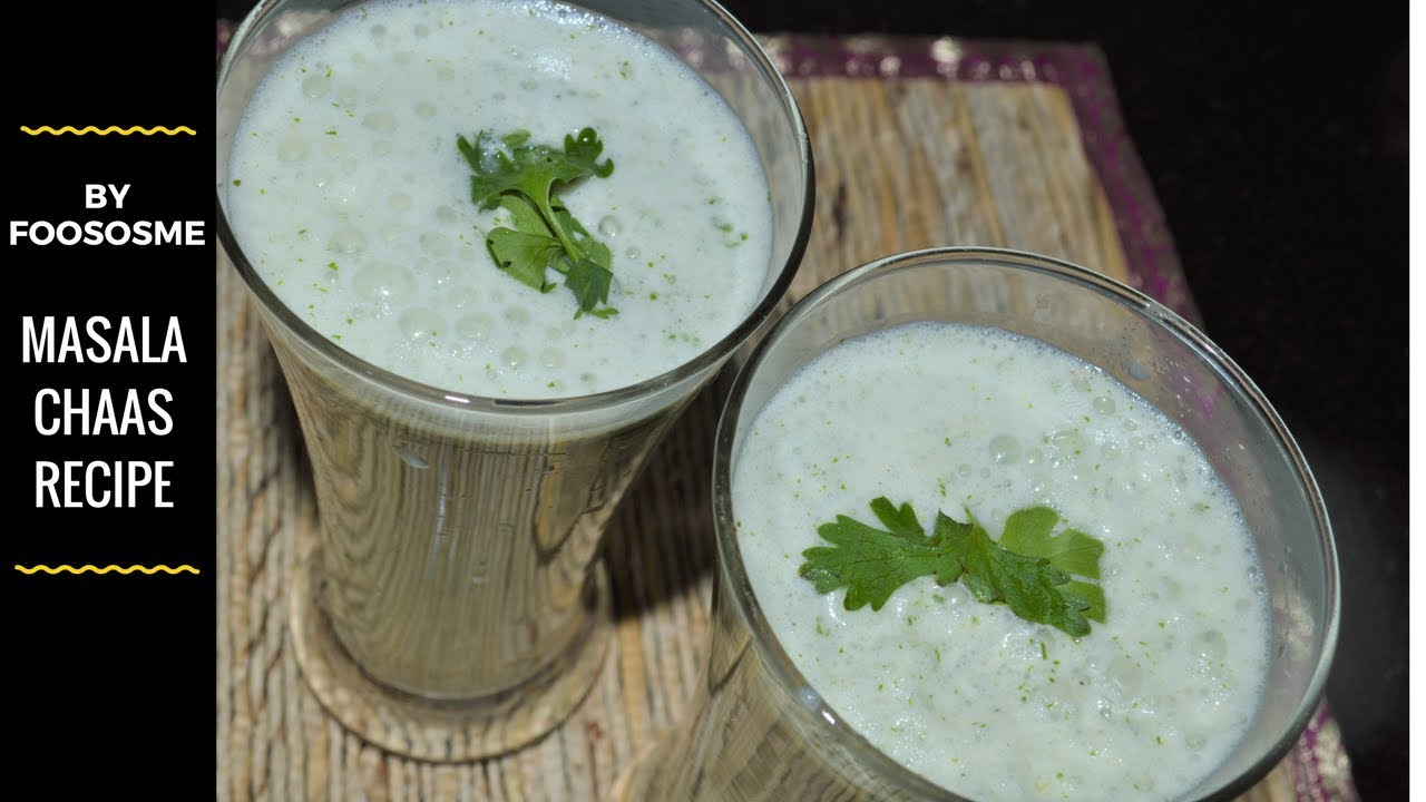 chaas^ masala chaas^ masala chaas recipe ^buttermilk^how to make ...