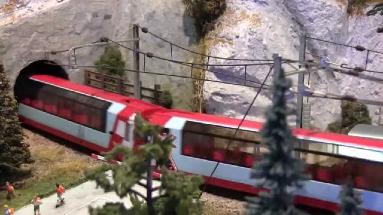 servo for model railways