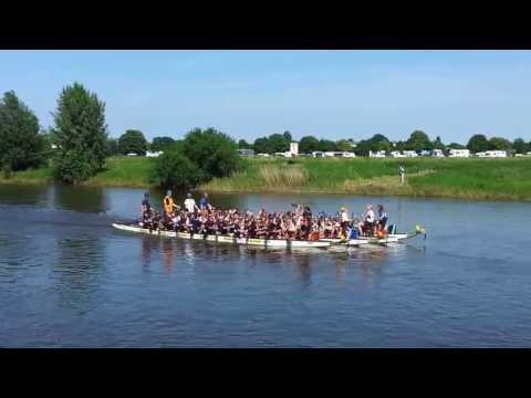 Showdown Finale Gold Mixed-Kurz beim 15. intern. Mindener Weserdrachen-Cup 2013