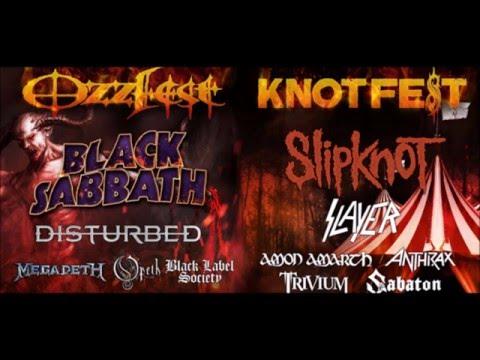 'Ozzfest Meets Knotfest' Ozzfest + Knotfest combine! - San Bernardino, CA Sept 24/25 2016