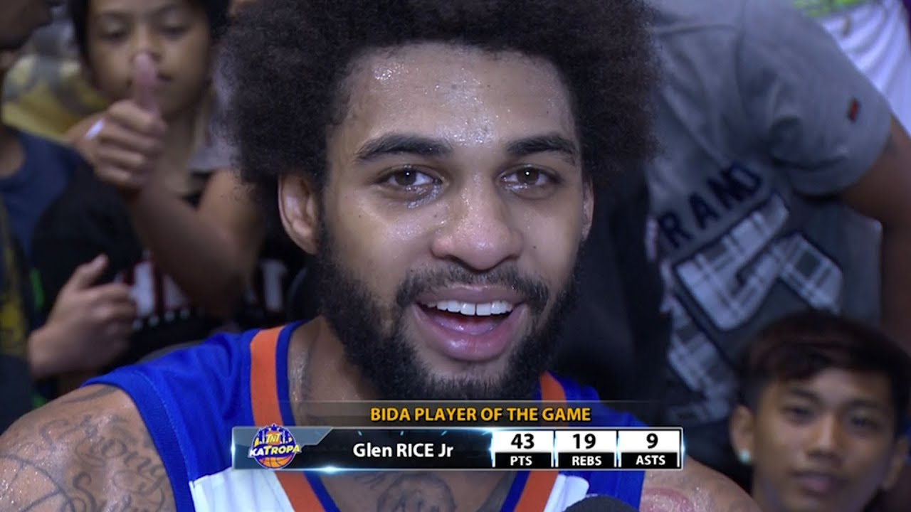 Best Player Glen Rice Jr