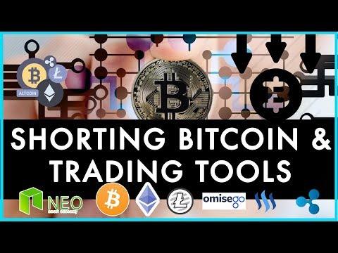 shorting Bitcoin and Trading tools