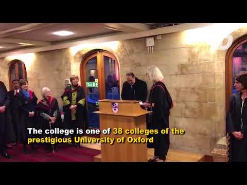 Front Desk : Agong receives Honorary Fellowship from Oxford