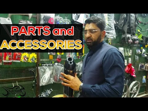 Afzal Traders Lahore - One Stop shop for Motorcycle Accessories and Parts