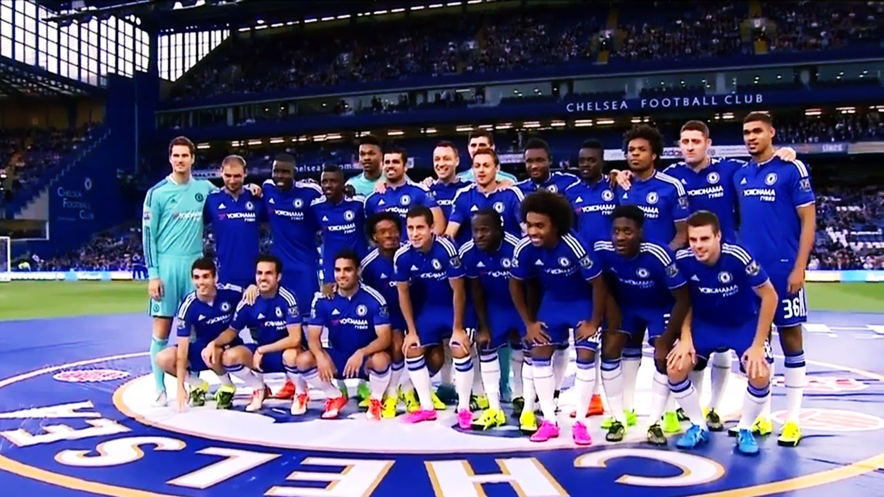 Chelsea Fc Squad Season 2015 2016 Full Set Youtube
