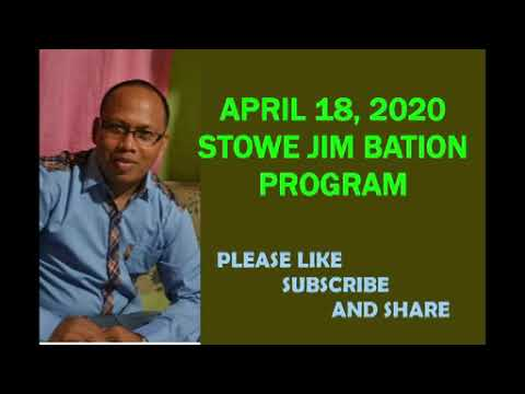 APRIL 18, 2020 STOWE JIM BATION CEBUANO CHRISTIAN PROGRAM - ANG BUHING BATO UG ANG BALAANG NASOD from YouTube · Duration:  30 minutes 1 seconds
