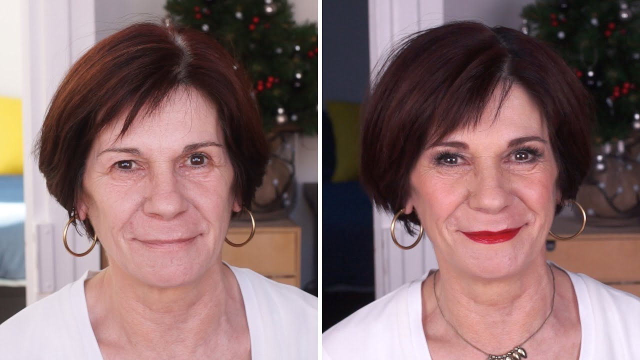 maquillage femme 57 ans