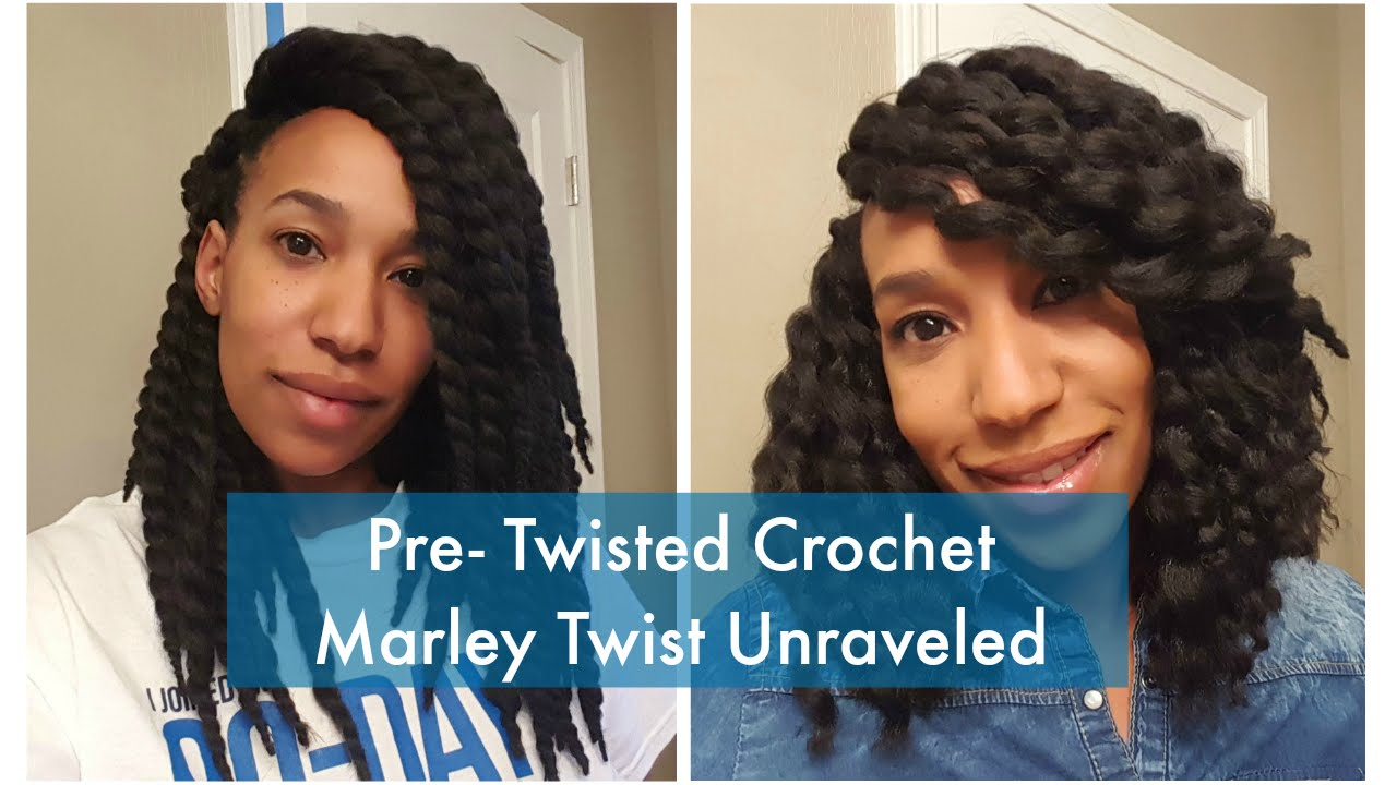 Crochet Pre Twisted Marley Hair Unraveled