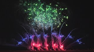 "[4K60p]2017いばらきまつりフィナーレ花火【ミュージックスターマイン】/Ibaraki Festival ""Nomura's Music Starmine"""