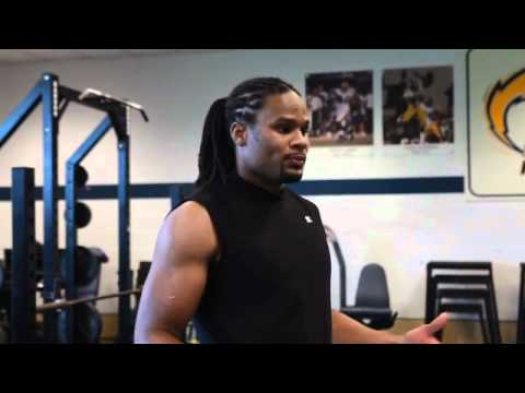 Josh Cribbs Workout: Deadlift Warm-Up Routine