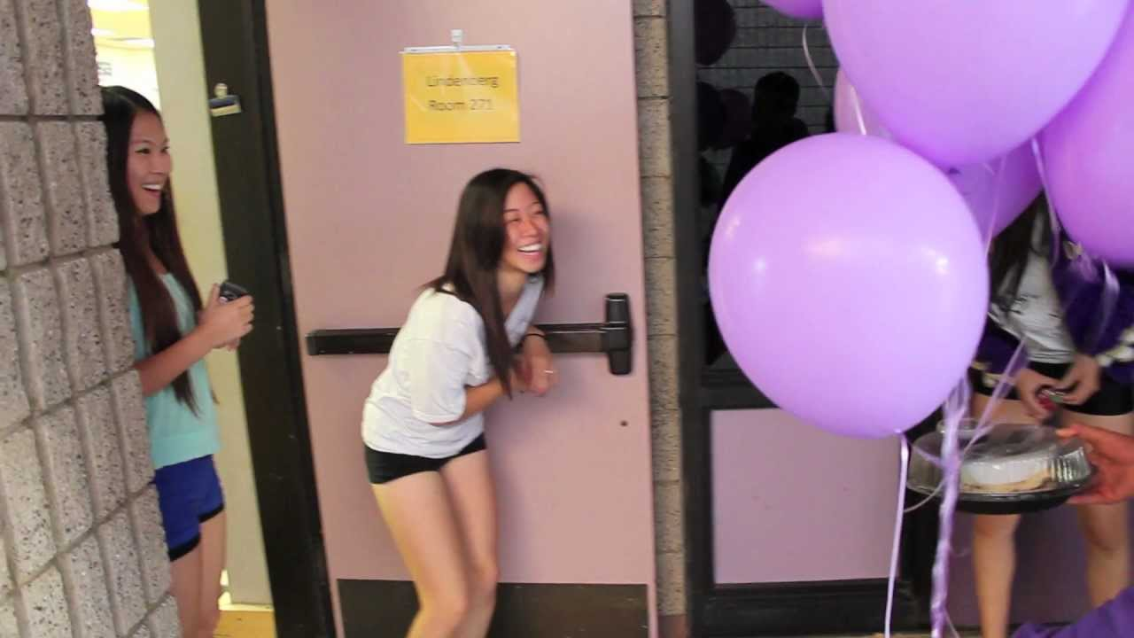 Simple cute homecoming asking youtube ccuart Gallery