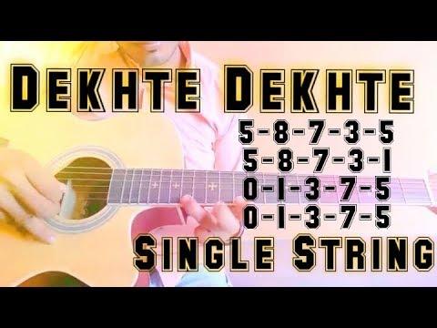 single string tabs