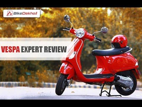 2015 Piaggio Vespa SXL / VXL (150cc) | Expert Review | BikeDekho.com