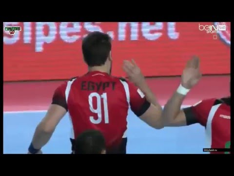 22nd African Men's Handball Championship - Egypt all goals part 2