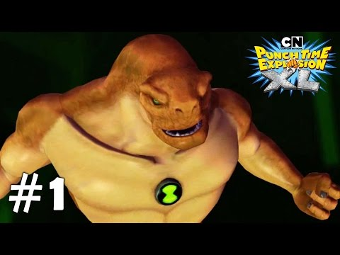 Cartoon Network: Punch Time Explosion XL - Xbox 360 / Ps3 Gameplay Playthrough Story PART 1