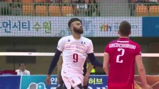N'Gapeth- the most entertaining volleyball player
