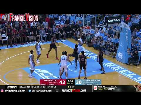 North Carolina Vs Louisville | Full Game Highlight | 1.12.19