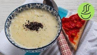 ŞEHRİYELİ YOĞURT ÇORBASI - Yapması, Pişirmesi 6 Dakika , Kesilme Derdi Yok