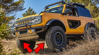 Why The Ford Bronco Has Independent Front Suspension