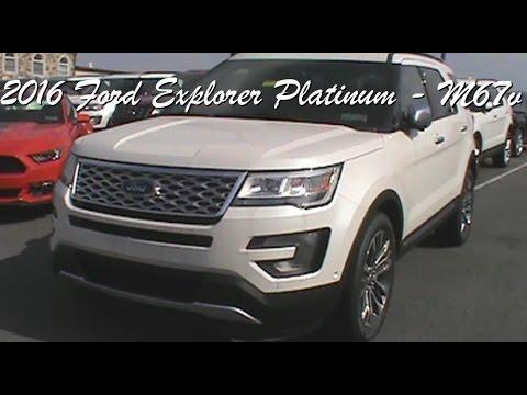 2016 Ford Explorer Platinum - M67v