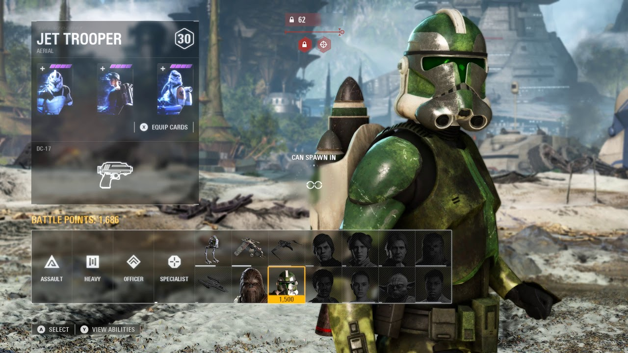 Commander Gree Defends Kashyyyk - Star Wars Battlefront 2