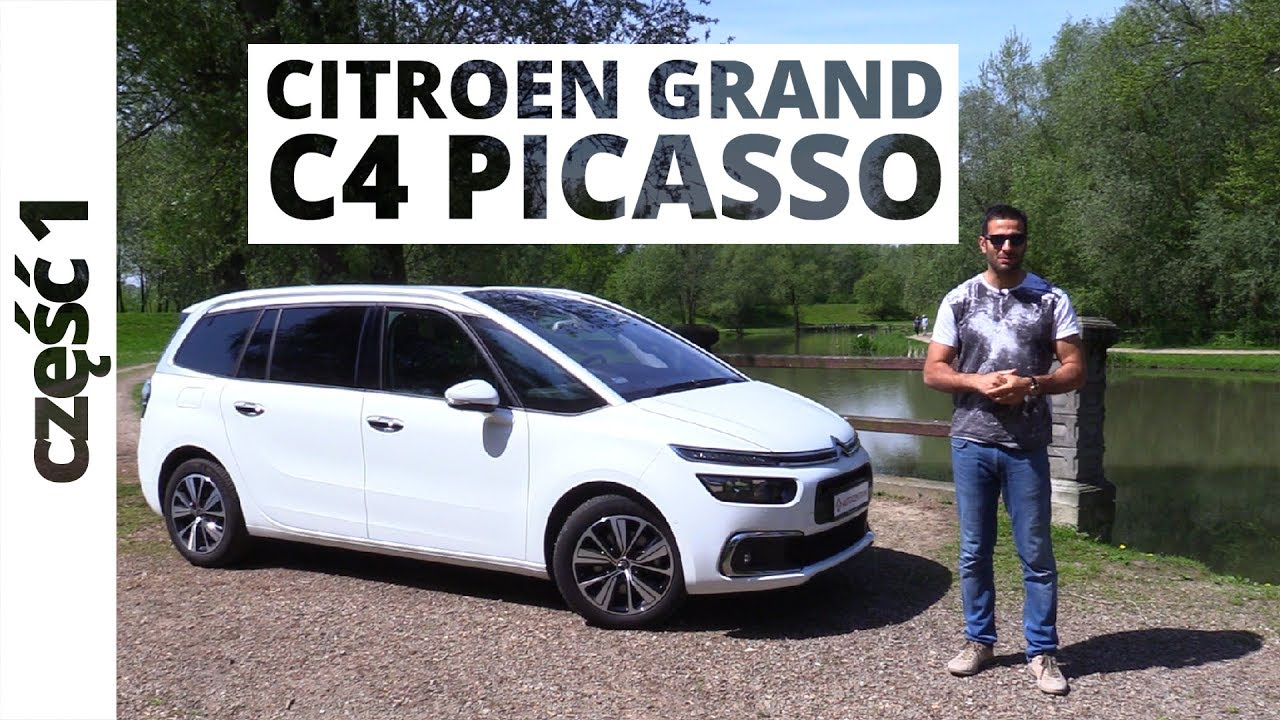 citroen grand c4 picasso 1 6 thp 165 km 2017 test. Black Bedroom Furniture Sets. Home Design Ideas