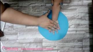 Hướng dẫn cách tự làm bột in dấu cho bé