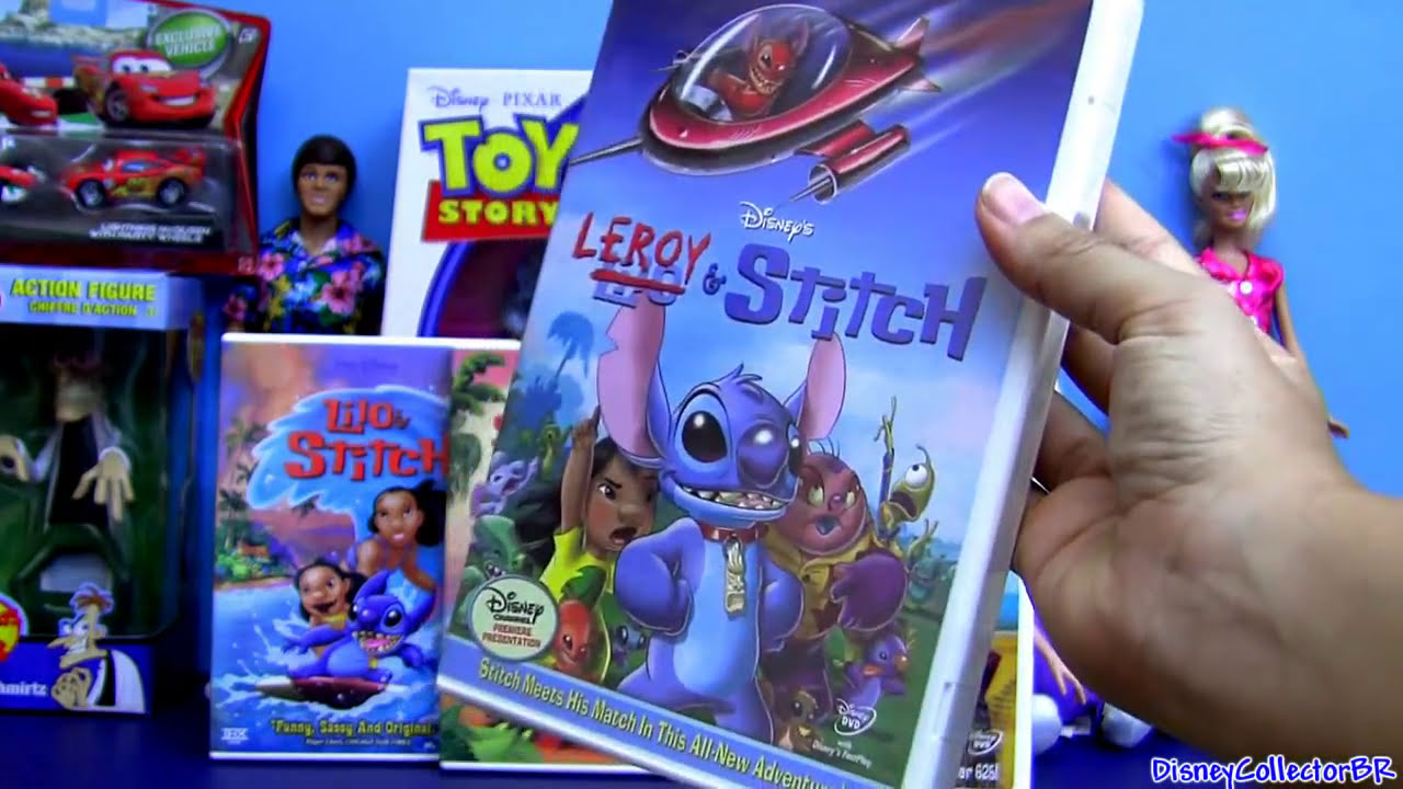 Lilo and Stitch dvd unboxing review Disney Leroy and St ...