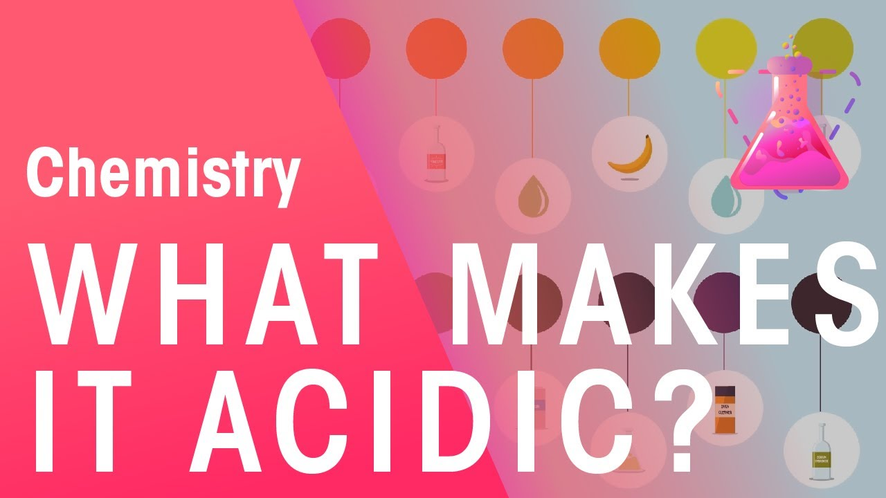 how to tell if something acidic