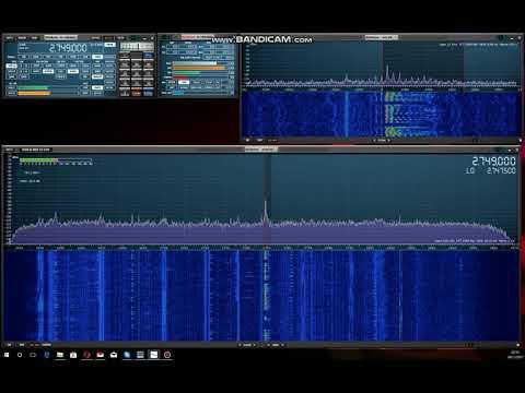 Canada HF Maritime Weather Forecast, 2749 kHz
