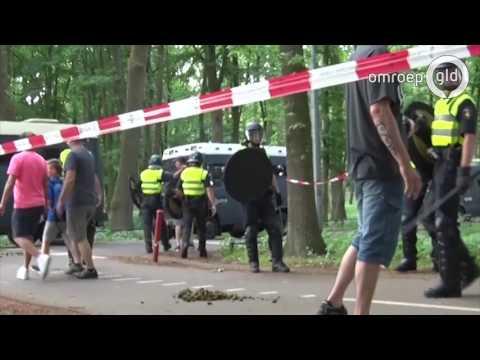 Supporters NEC agressief tegen cameraploeg Omroep Gelderland
