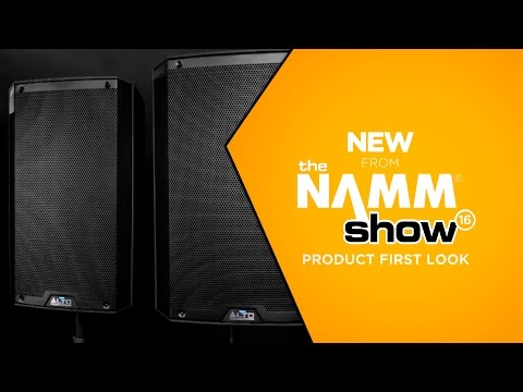 NAMM 2016 - Alto Professional Truesonic TS2 Series Powered Loud Speakers