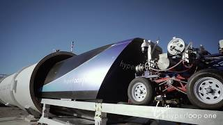 Hyperloop One ultra high speed electric transport system completes 3rd test