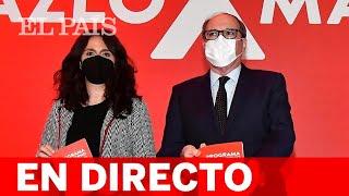 DIRECTO #4M | Acto de GABILONDO en la sede del PSOE