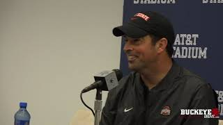 Ryan Day speaks after Ohio State's win over TCU