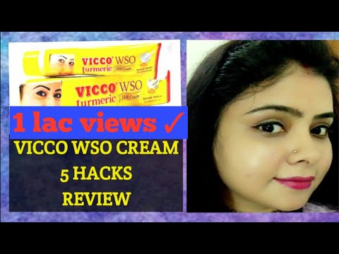 VICCO TURMERIC WSO CREAM: 5 HACKS AND REVIEW #vicco #bestcream #fairskin #oilyskin #allrounder