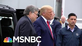 'Emergency': Mueller Vet Rebukes Trump's AG For 2020 Meddling | The Beat With Ari Melber | MSNBC
