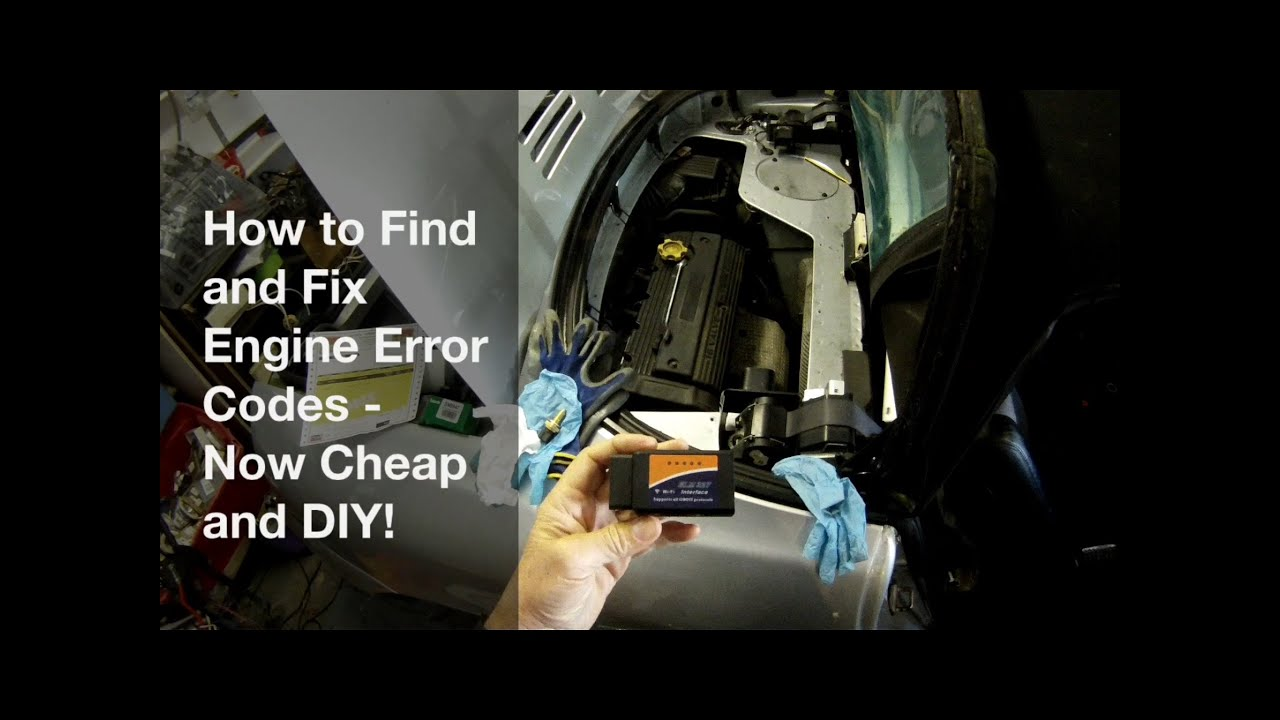 How to Find and Fix Engine Error codes - Now Cheap and DIY! OBD2 scanner