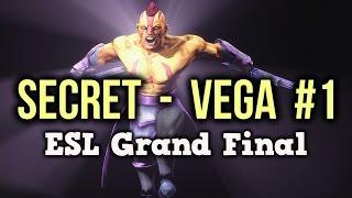 Secret vs Vega Squadron Dota 2 Highlights ESL One NY Grand Final Game 1