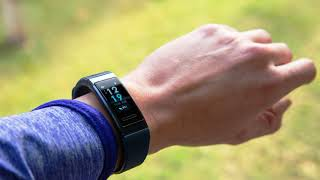 Huawei Band 3 Pro Sport Watch review of the new fitness tracker with GPS, new AMOLED screen, device