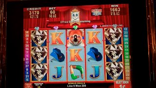 Outback Mystery Slot Machine Bonus - Mirror Reels Feature - 10 Free Games Win